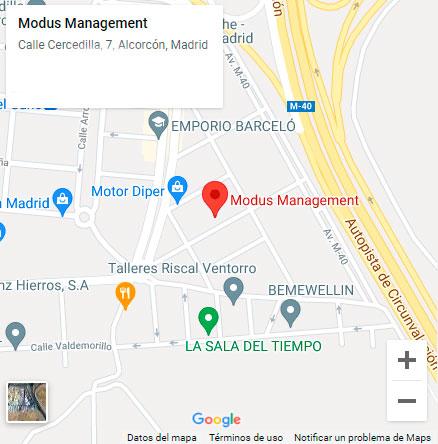 mapa modus